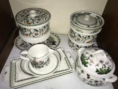 SECTION 4. Portmeirion 'Botanic Garden' dinner wares including a pair of lidded casserole dishes,