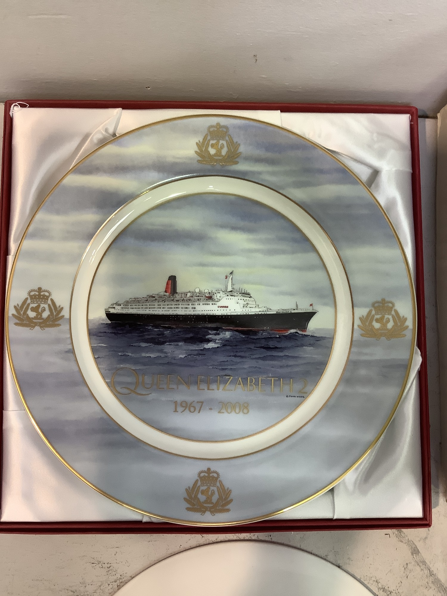 A collection of 7 dinner plates relating to Seabourn Sun Millennium cruise and 9 limited edition - Image 2 of 2