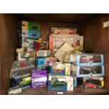 SECTIONS 33 & 34. A collection of approximately 35 boxed die-cast vehicles comprising Lledo Days