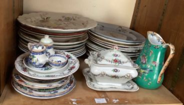 SECTION 29, 30 and 31. A mixed collection of ceramic tableware's, predominantly Booths examples