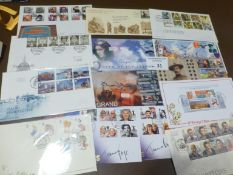 Stamps : Collection of modern GB FDC's incl some s