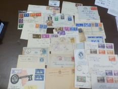 Stamps : Nice box of covers - (some first day) mos