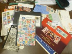 Stamps : Real mixed box - GB flight covers some si