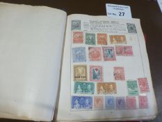 Stamps : World stamp collection - in 2 well filled