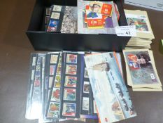 Stamps : Box of GB presentation packs & a few book