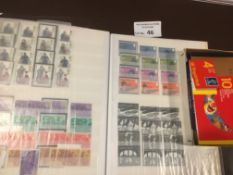 Stamps : Large box of albums inc QV 1d reds QEII p