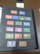 Stamps : GB nice album 1840 - decimal QE11 - inc 2