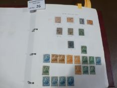 Stamps : Canada stamp collection mint/used in spec