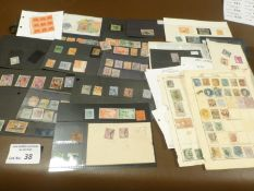 Stamps : Small tray of better British Commonwealth