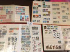 Stamps : QEII - 2 albums of low value decimal comm