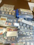Stamps : A box of GB presentation packs 1970's - 1