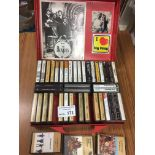 Records : Cassettes - nice case of BEATLES & relat