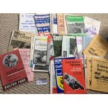 Motor Cycling : Good bundle of progs 1950's onward