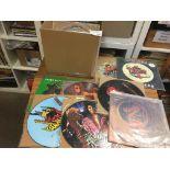 "Records : 23 Heavy Metal/Rock - 12"" picture discs"