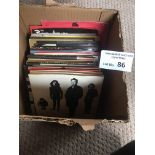 """Records : Collection of Punk/Rock 7"""" singles all i"""