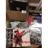 Records : BEATLES albums (18) inc Beatles realated