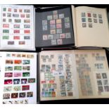 Stamps : COMMONWEALTH In 7 albums and a stockbook