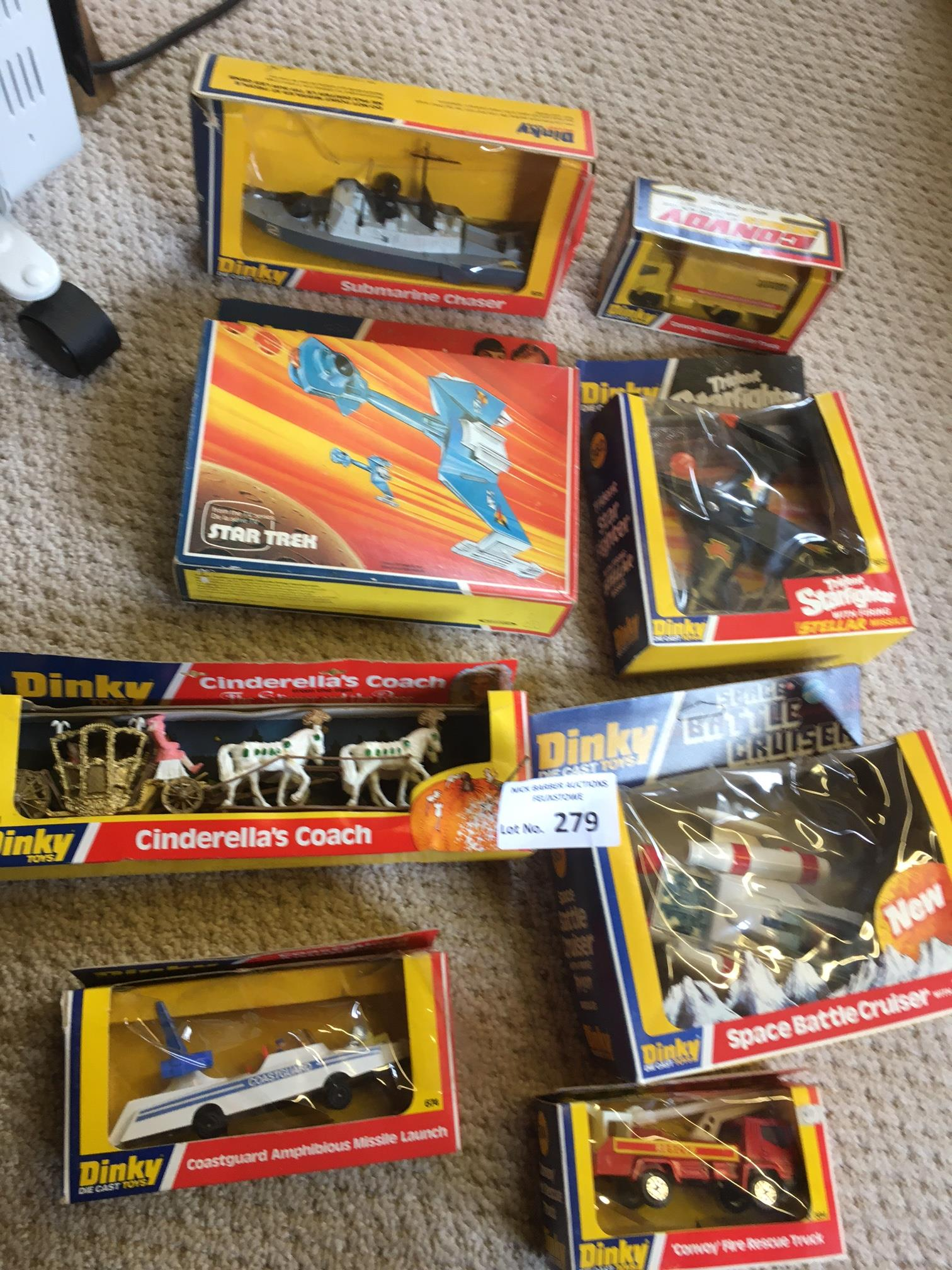 Diecast : Dinky - a nice box of boxed more modern
