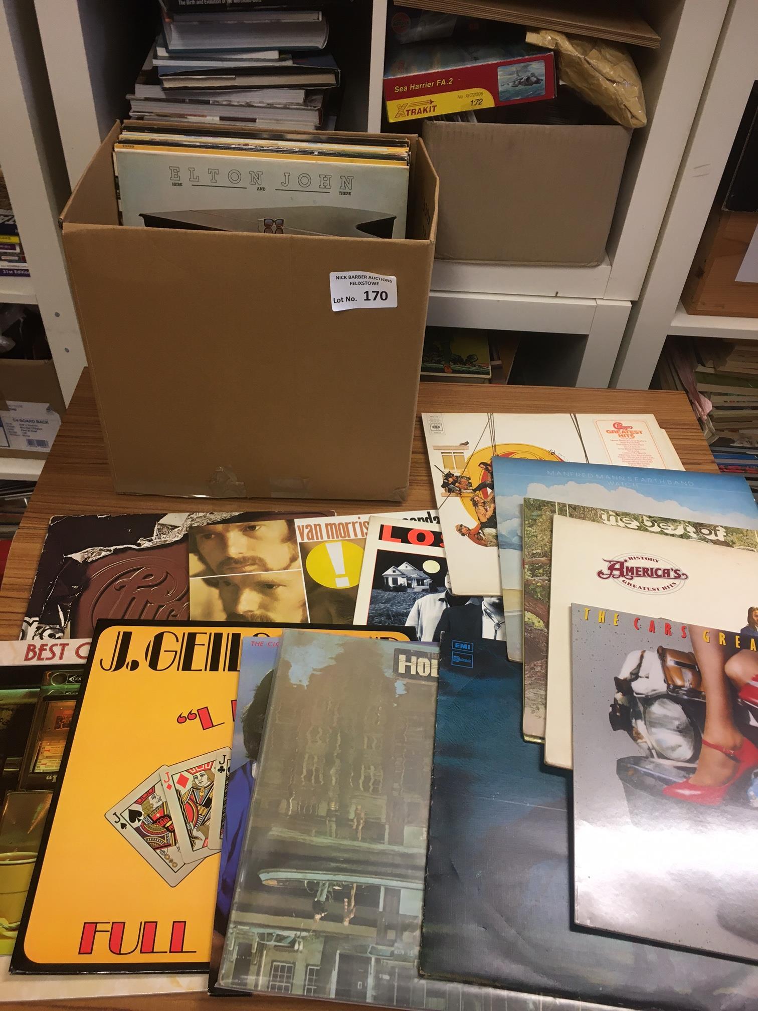 Records : 30+ Classic rock albums inc Van Morrison