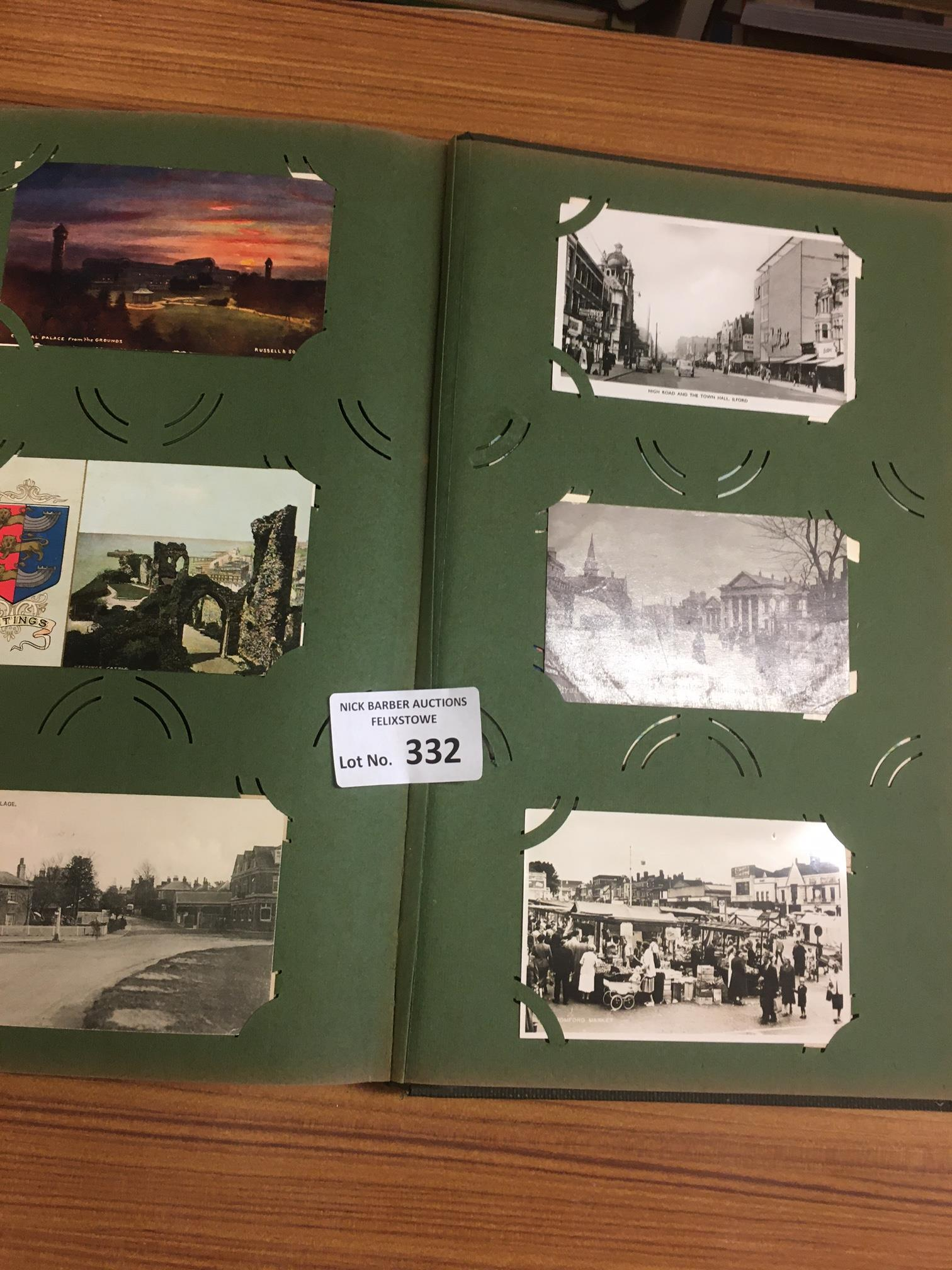 Collectables : Postcards - old album - topographic