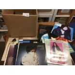 Records : Box of 40+ albums - Female artists inc M