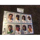 Football : Cards - Rothmans 1984 - Intl Stars set