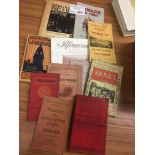 Collectables : Guide Books early 1900's - 30's x13
