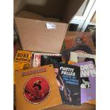 Records : Jazz - 40+ albums - box - inc Brown, Fu