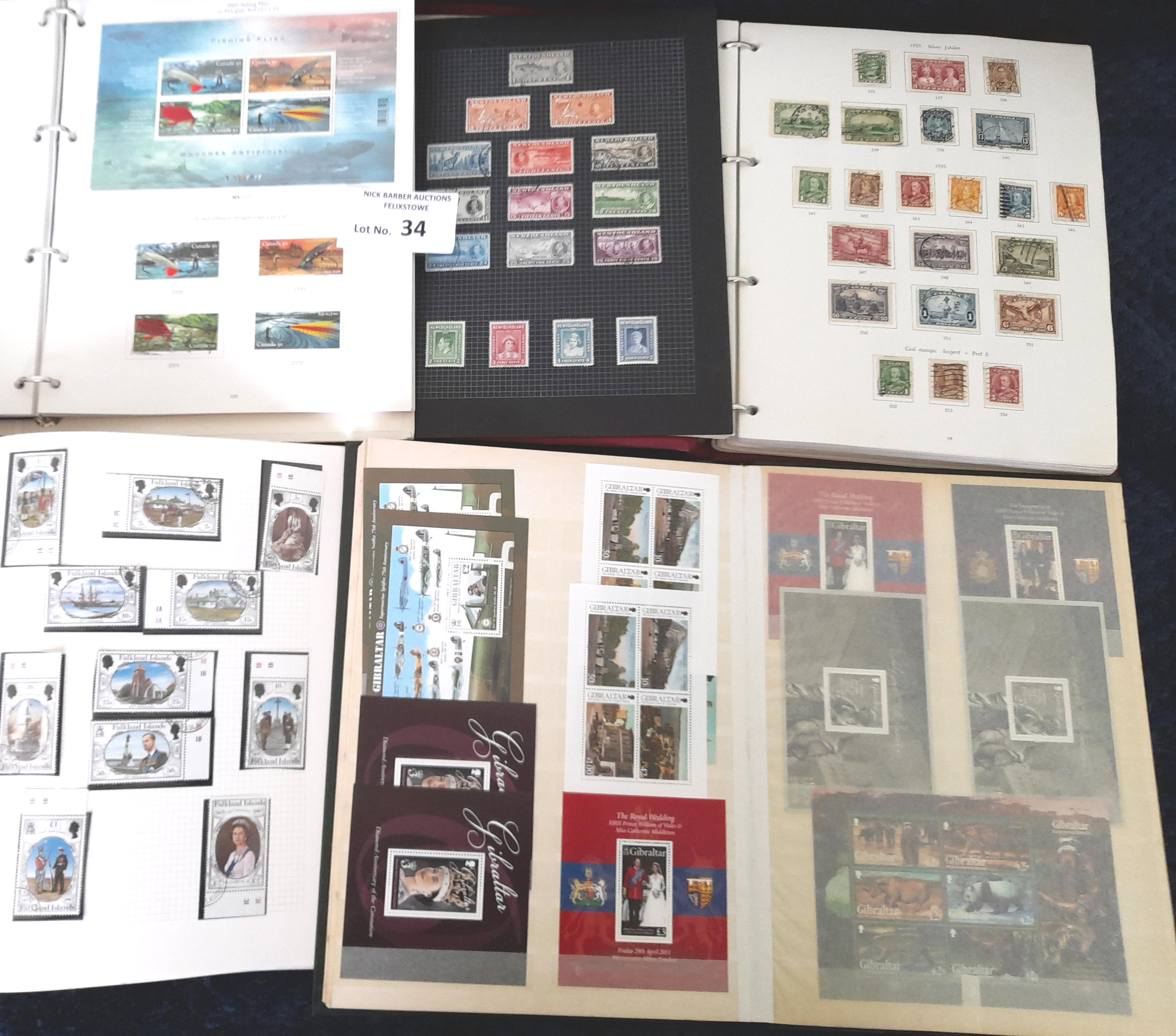 Stamps : COMMONWEALTH In 7 albums and a stockbook - Image 2 of 2