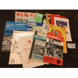 Motor Cycling : Collection of programmes inc Mallo