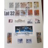 Stamps : SWEDEN Attractive Sel. In Red Binder wit
