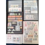 Stamps : WORLD in 10 Albums or S/Books + 2 folders