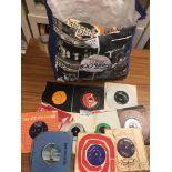 """Records : 7"""" singles big bag - 1960's onward - ma"""