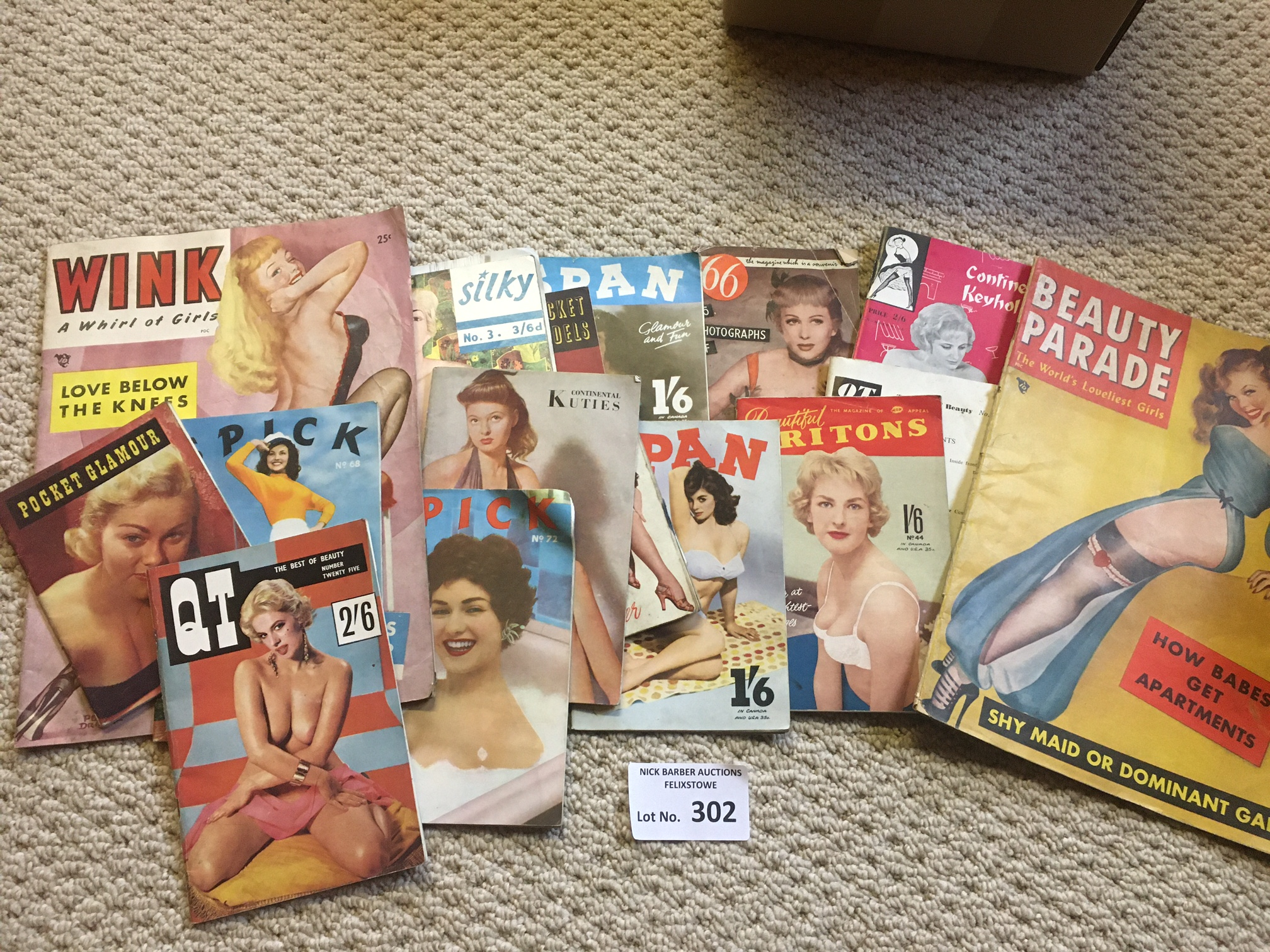 Collectables : Adult Glamour - vintage magazines 1