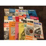 Motor Cycling : Nice lot of programmes inc Cadwell
