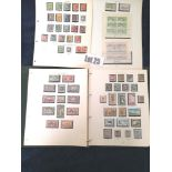 Stamps : NEW ZEALAND Mainly used collection in an