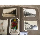 Collectables : Postcards - superb album of cards 4