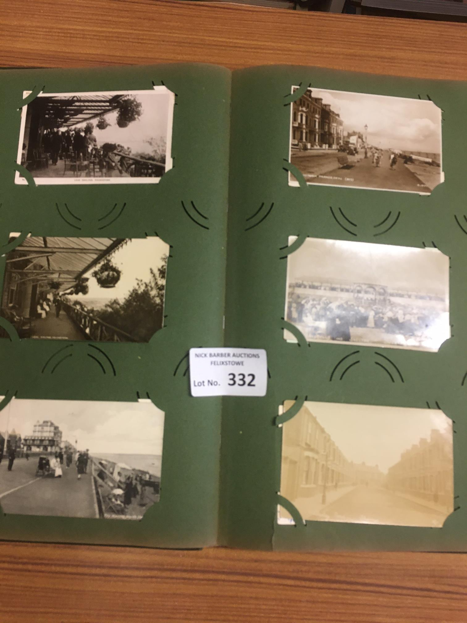 Collectables : Postcards - old album - topographic - Image 4 of 4