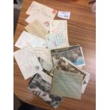 Postcards : Military postmarks x40 most censor etc