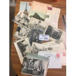 Postcards : Postmarks interest x50 GB / foreign fr