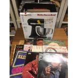 Records : Large box of 50+ Country & Western album