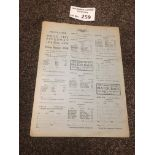 Speedway : White City London - 2 page card - Early