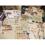 Stamps : Interesting lot of stamps inc China, a fe