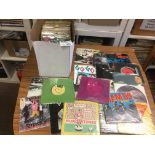 Records : 80+ box of Punk/Post Punk 45's inc Damne