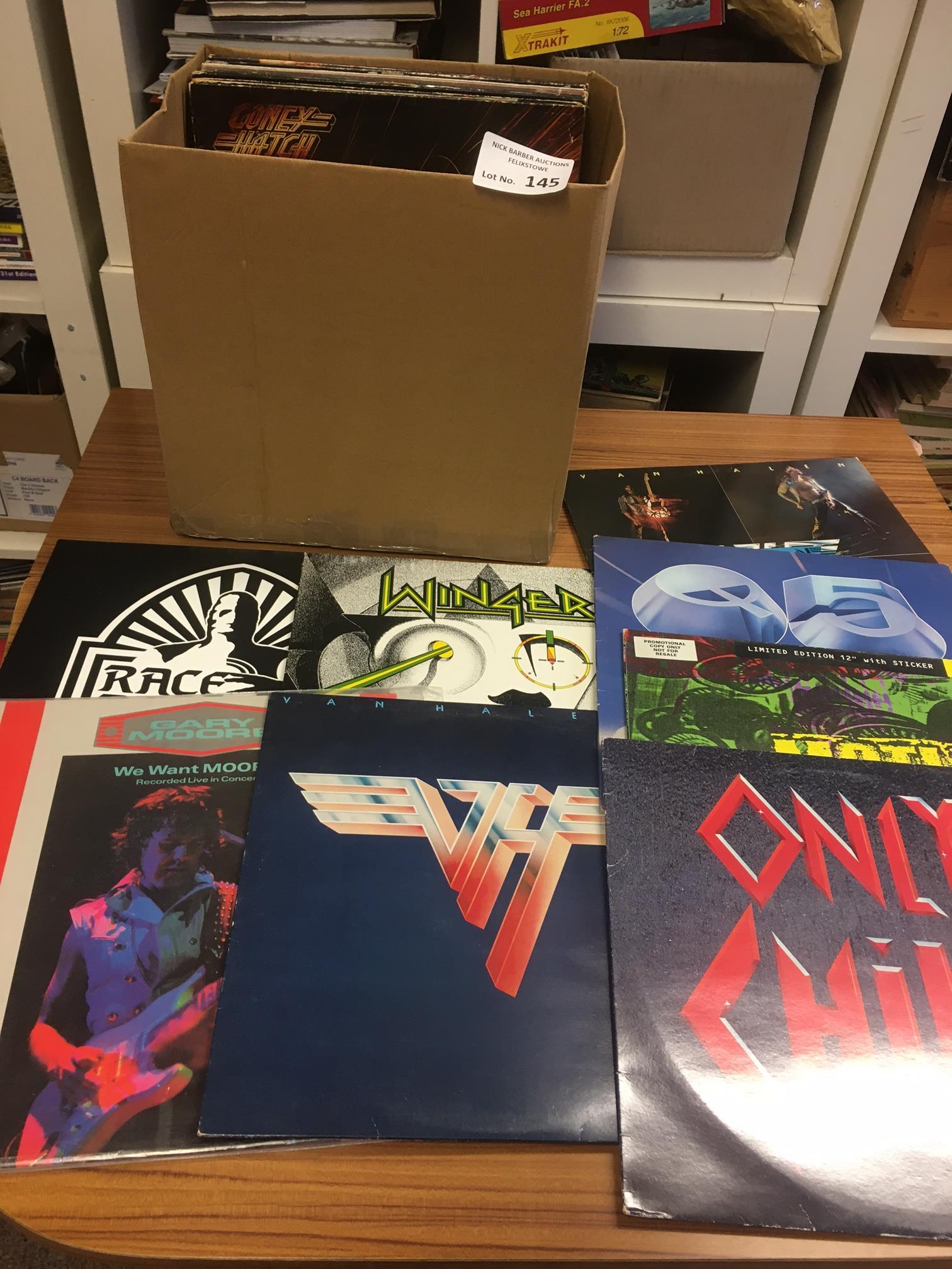 Records : 30+ Heavy Metal/Rock albums inc Motley C
