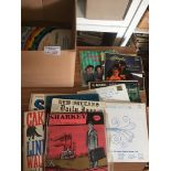 Records : Jazz - 40+ albums in box inc New Orlean