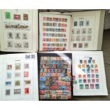Stamps : WORLD In 12 Albums/stockbooks Incl. Switz