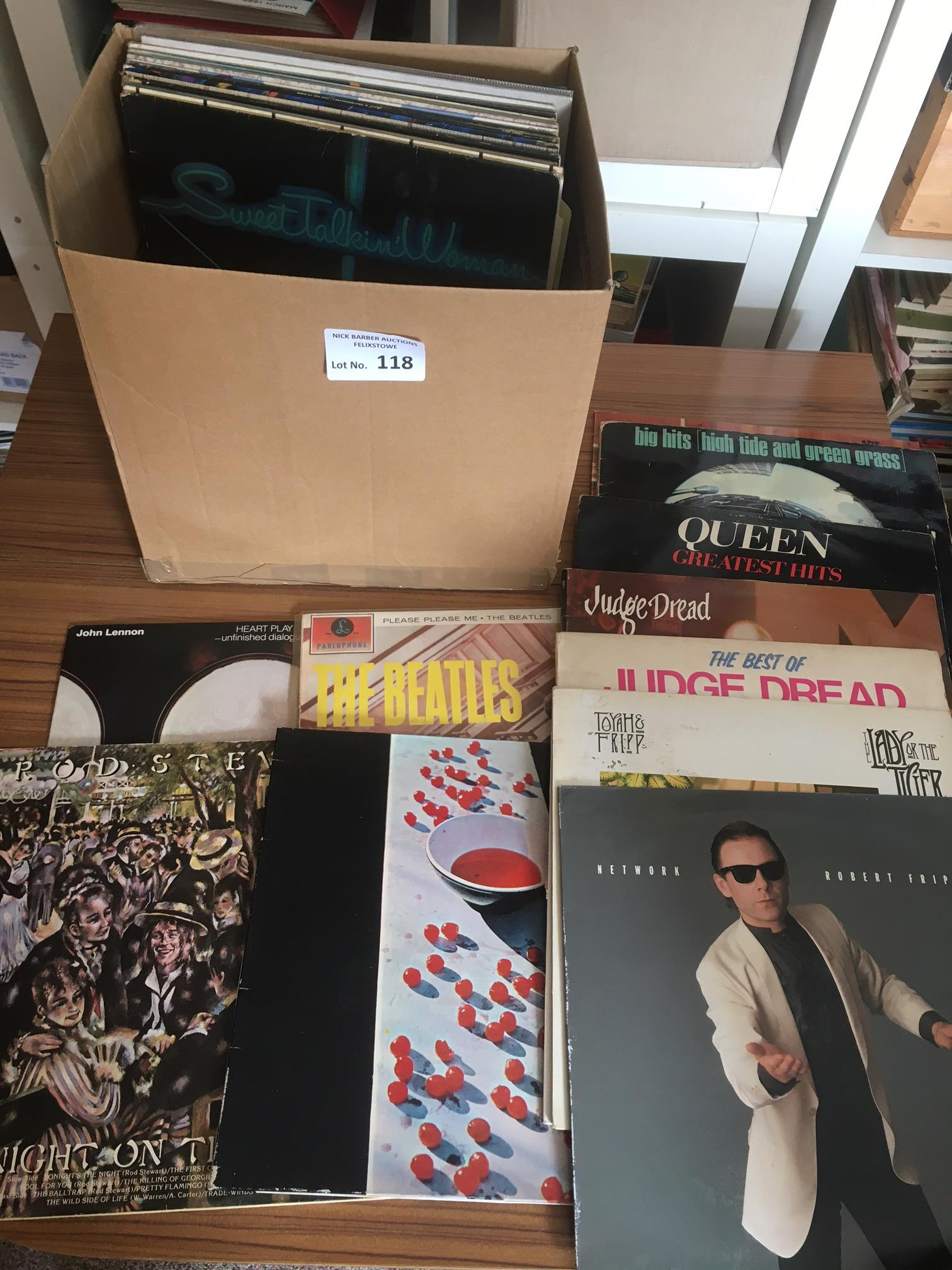 Records : 30+ Classic Rock albums inc Beatles, Rol