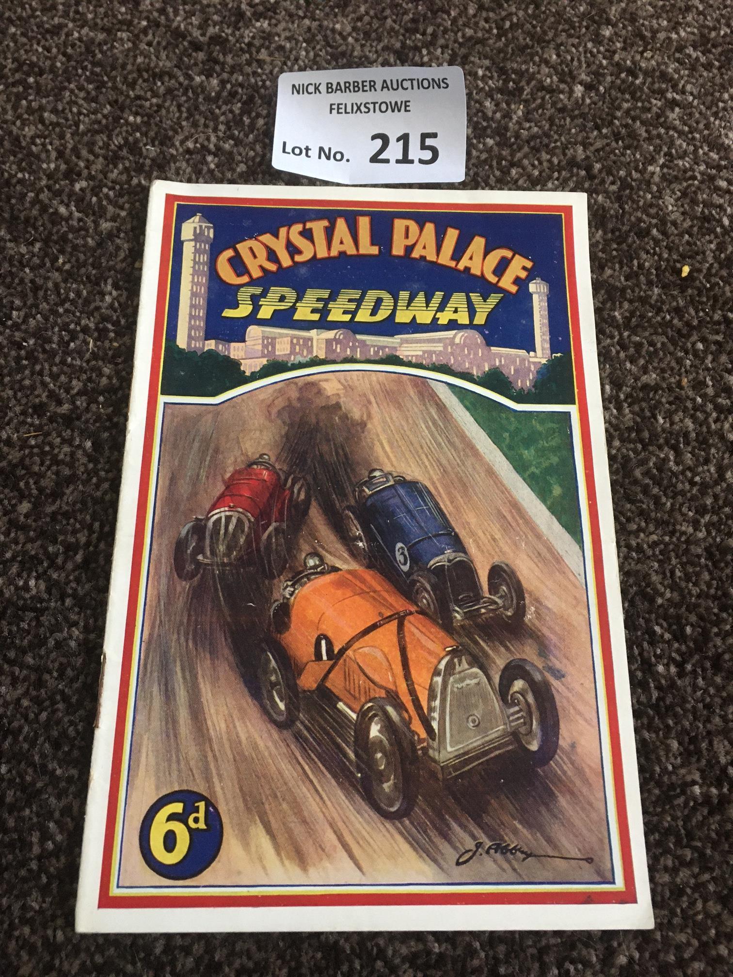 Car Speedway : Crystal Palace Car v Wimbledon & We
