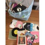 """Records : 7"""" singles big bag - 1960's onward - va"""